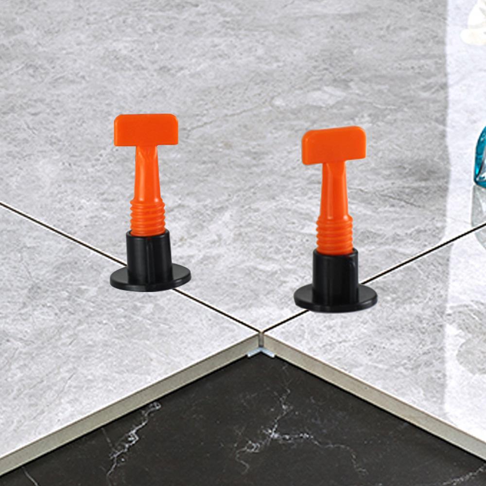 50pcs Ceramic Floor Wall Construction Tool Reusable Tile Leveler