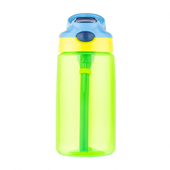 500ML Straw Sports Water Bottle Leak-proof Drinking Cup - Green