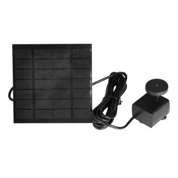 Solar Panel Powered Water Feature Plants Pump Garden Pool Pond Aquarium Fountain.