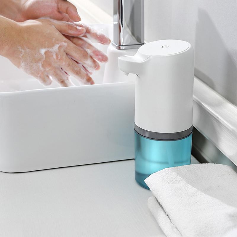Chargeable Automatic Soap Dispenser Touchless IR Sensor Liquid Wash Dispenser Foaming UK