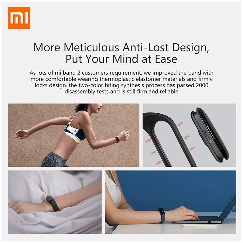 Xiaomi Mi Band 3 Fitness Tracker 0.78 OLED Display Heart Rate Monitor 50M Water-Resistant Bracelet