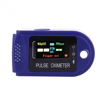Four-color Display Fingertip Pulse Oximeter Oxygen Saturation Meter Blood Monitor Finger Oximeter with FDA CE Certificate