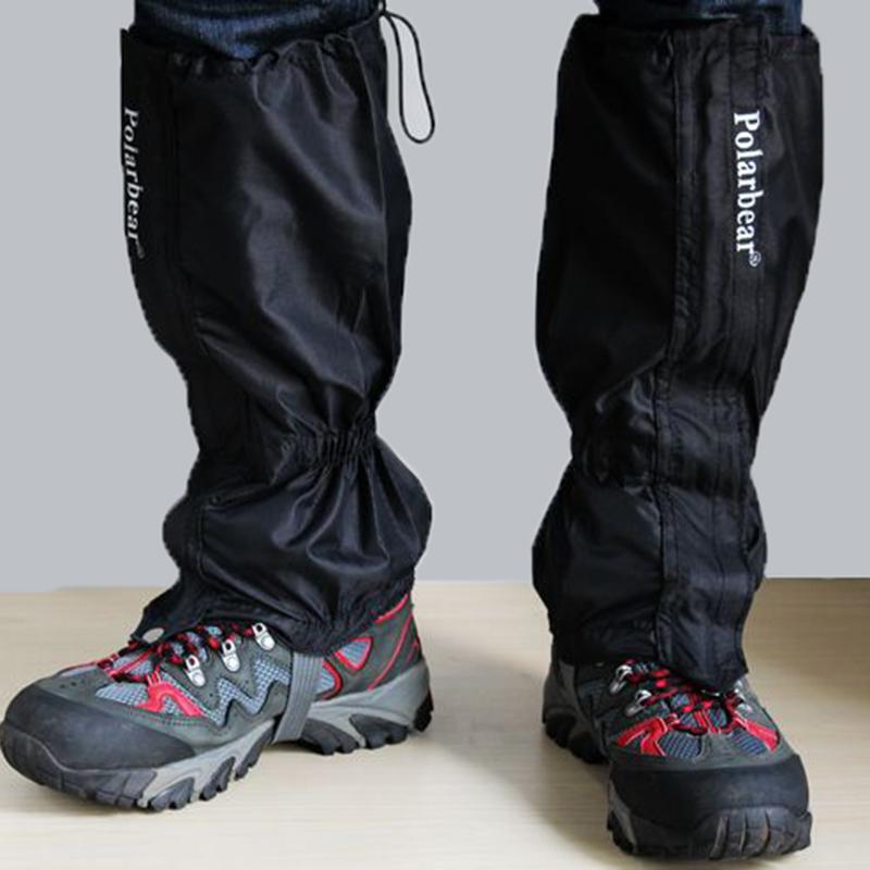 Waterproof Walking Leg Cover Gaiters Hiking Climbing Trekking Skiing