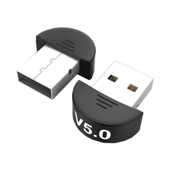 USB Bluetooth 5.0 Adapter for PC Win 10/8.1/8/7/XP/Vista - Semicircle
