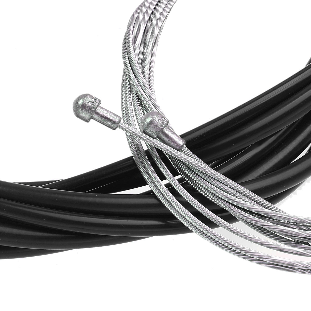 Jagwire Bike Bicycle Complete Front & Rear Inner Outer Gear Brake Wire Cable Kit - Black