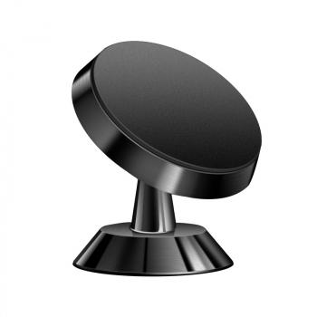 Universal 360 Degree Rotating Magnetic Dashboard Car Phone Holder Mount - Black