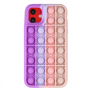 Pop it its Push Bubble Shockproof Soft Silicone Case for iPhone 11