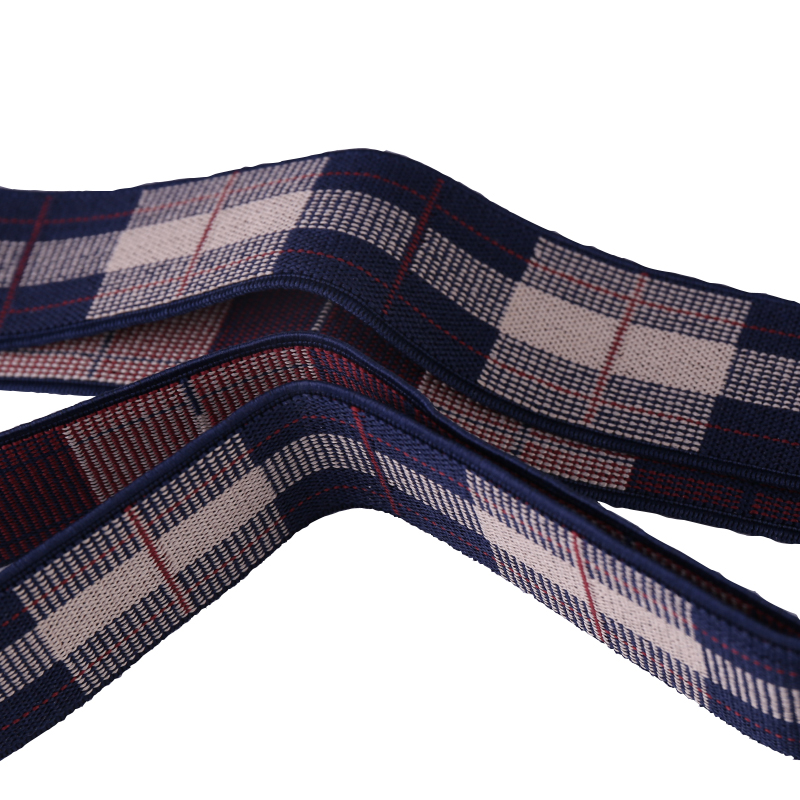 Business Mens Trousers Refined Suspenders Non-slip Shoulder Straps Gift Box Package - Retro Plaid