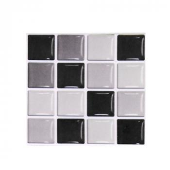 30 pcs Kitchen Tile Stickers Bathroom Mosaic Sticker Self-adhesive Wall Home Decor - MSC068
