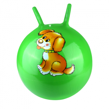 Large Space Hopper Inflatable jumping Bounce Ball with Foot Inflator - Green