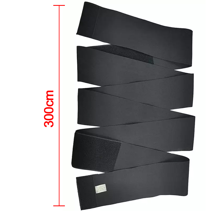 Snatch Me Up Waist Bandage Body Shaper Wrap Lumbar Support Sauna Belt Trimmer - 3m