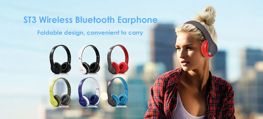 ST3 Wireless Bluetooth Earphone