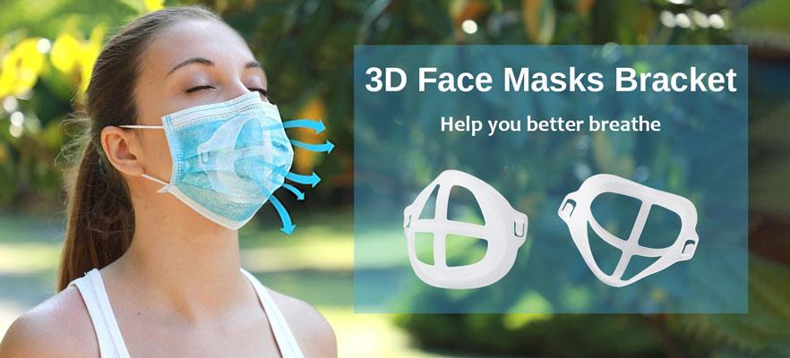 3D Face Masks Bracket