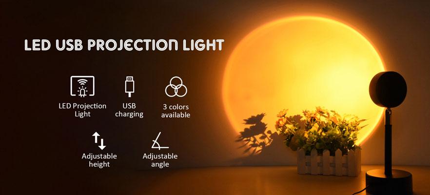 LED USB Projection Light