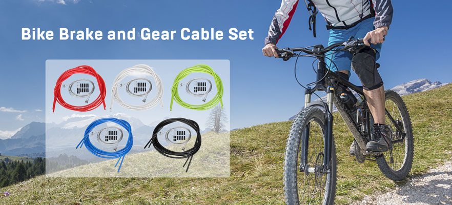 Bike Brake and Gear Cable Set