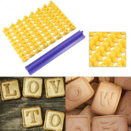 Alphabet Number Letter Cookie Biscuit Stamp Mold Cake Cutter Embosser Mould Tool - Number