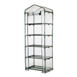 5 Tier Mini Greenhouse Walk In Grow Bag Replacement PVC Cover Casing (Cover only)