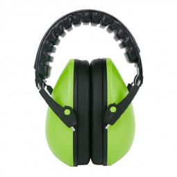Adjustable Foldable Earmuff Noise Reduction Sleep Hearing Protection Earmuff - Green
