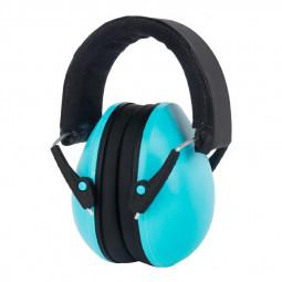 Adjustable Foldable Earmuff Noise Reduction Sleep Hearing Protection Earmuff - Blue