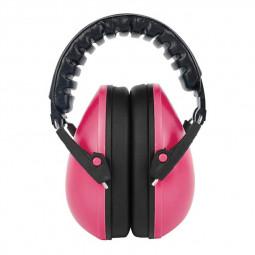 Adjustable Foldable Earmuff Noise Reduction Sleep Hearing Protection Earmuff - Pink