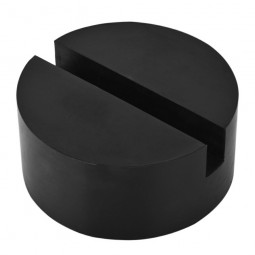 Classic Car Rubber Pad Slots Jack Hydraulic Ramp Jacking Tool Trolley Jack Support Block - 60x24mm