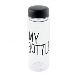 500ML Travel Water Flask Bottle My Bottle Safe Plastic Creative Bottle Lemon Milk Juice Bottle