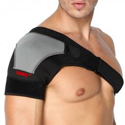 Adjustable Bandage Protector Brace Joint Pain Injury Shoulder Support - Left Shoulder
