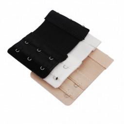 3pcs Bra Extender 2x3 Hooks Ladies Bra Extension Strap Underwear Strapless