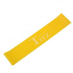 Exercise Fitness Resistance Bands Yoga Pilates Loop Training Crossfit Gym Strap 500x50x0.45mm - Yellow
