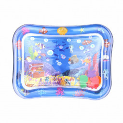 Large Inflatable Water Play Mat Perfect Fun Tummy Time - Ocean Pattern