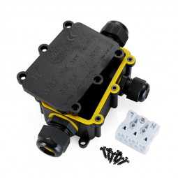 3 Way IP68 TUV M686 Waterproof Electrical Cable Connector Junction Box