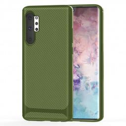 Soft Matte TPU Phone Case for Samsung Galaxy Note 10 Plus - Green