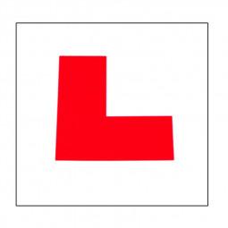 2pcs L Plate Magnetic Exterio Car Learner Secure Safe Driving Vehicle Sticker