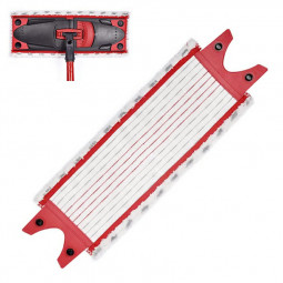 Double Buckle Replacement Household Mop Head Microfiber Mop Pads for Vileda 1 / 2 Spray Mop