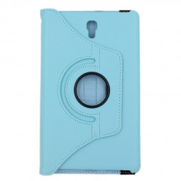360 Rotation Case Cover for Samsung T700- Light Blue