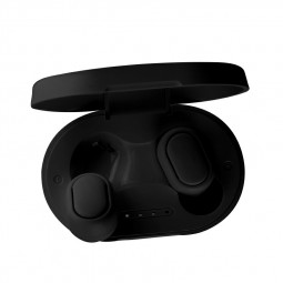 A6S TWS Mini Airdots Bluetooth 5.0 Earphone Stereo Headset - Black