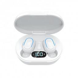 E7S TWS Wireless V5.0 Bluetooth Earphones Mini Stereo Earbuds Macaron Colour - White