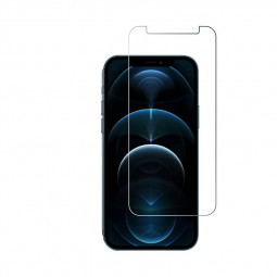 High Transparency Scratch Resistant Anti-shatter 2.5D Tempered Glass for iPhone 12 Pro Max