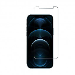 High Transparency Scratch Resistant Anti-shatter 2.5D Tempered Glass for iPhone 12