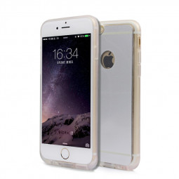 Wireless Charging Receiver Case Cover for iPhone 6 4.7 - Silver