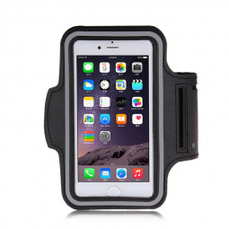 Adjustable Armband Armlet Velcro Strap for iPhone 6 Plus 5.5 - Black