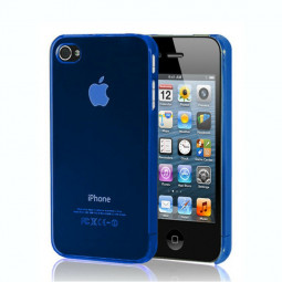 0.5mm Ultra Thin Slim Hard Case Cover Shell for iPhone 5 - Blue