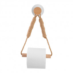 Vintage Towel Hanging Rope Toilet Paper Holder Home Hotel Supplies Towel Stand - Type B