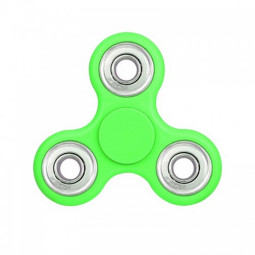 Fidget Hand Tri-Spinner EDC Finger Spin Toy for ADHD Autism - Green