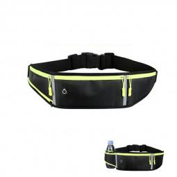 Holder Bag Waterproof Running Pouch Belt Waist Pack Fanny Pack for Bottle - Black