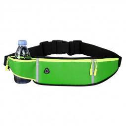 Holder Bag Waterproof Running Pouch Belt Waist Pack Fanny Pack for Bottle - Green
