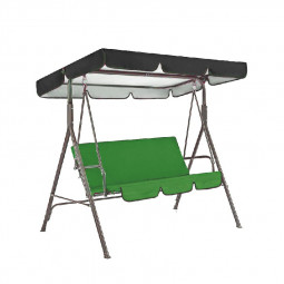 Replacement Canopy for Swing Seat Garden Hammock 2 and 3 Seater Sizes Spare Cover - 164x114x15cm