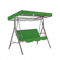 Replacement Canopy for Swing Seat Garden Hammock 2 and 3 Seater Sizes Spare Cover - 195x125x15cm
