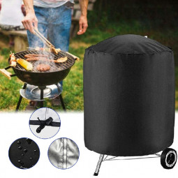 BBQ Cover Kettle Heavy Duty Waterproof Gas Barbeque Grill Garden Protector - 62x105cm