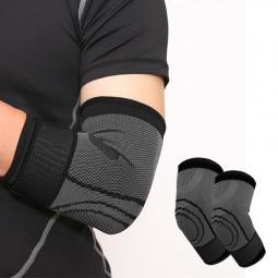 Elbow Support Compression Sleeves Arm Tennis Golfers Gym Arthritis Strap - XL